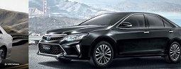 ราคาและตารางผ่อน TOYOTA CAMRY 2018-2019  รถยนต์เก๋งซีดานสุดหรูระดับพรีเมียมสไตล์สปอร์ต
