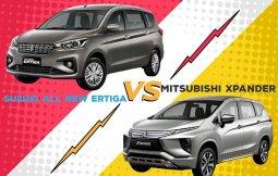 เปรียบเทียบ Mitsubishi Xpander 2018-2019 กับ Suzuki Ertiga 2018-2019  คันไหนจะตอบโจทย์แฟนรถครอบครัวได้ดีกว่า