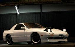 รถสปอร์ตสมรรถนะสูง mazda rx-7 1990 ผนวกกำลังผลิตยนตรกรรมที่แปลกใหม่