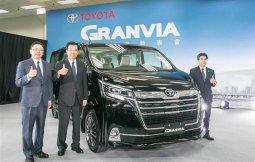 Toyota Granvia 2020 รถตู้ที่มาพร้อมกับความสบายในระดับเฟิร์สคลาส