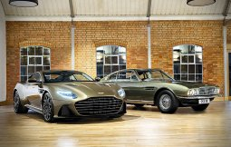 Aston Martin DBS Superleggera SE ครึ่งศตววรษของรถรุ่นคู่ใจพยัคฆ์ร้าย 007