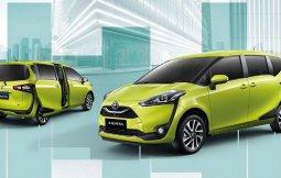 Toyota Sienta 2019 อัฟเดทใหม่ เพิ่มเติมสีและอุปกรณ์