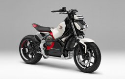 Honda Riding Asist-e Concept เนคเคดไบค์ไฟฟ้าสำหรับสายชิลล์
