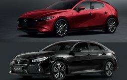 รีวิว All-new Mazda 3 Fastback 2019 เทียบ Honda Civic Hatchback นาทีนี้ใครฮอต