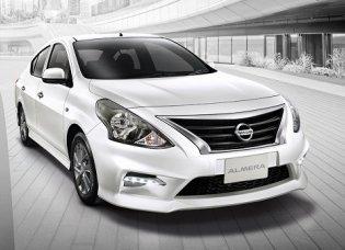 โปรโมชั่นสุดพิเศษ Nissan Almera รถยนต์อีโคคาร์ 4 ประตู ที่มาพร้อมกับดีไซน์หรูหราระดับพรีเมี่ยม