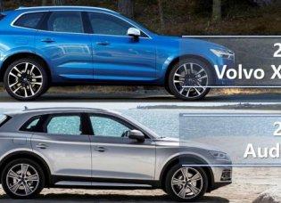 เทียบกันจะๆ ของสุดยอดยานยนต์แห่ง SUV ระหว่าง Volvo XC60 2018 และ Audi Q5 2018