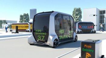 Toyota e-Palette Concept นำเทรนด์ Smart City การขนส่งและบริการยุคดิจิทัล