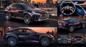 Lexus UX รุ่นใหม่อาจเปิดตัวในงาน Geneva Motor Show 2018