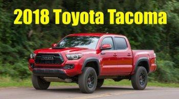 OFF-ROAD ตัวพ่อ!! Toyota Tacoma TRD Pro 4x4 เปิดตัวในงาน Chicago Auto Show 2018