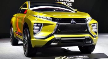 Mitsubishi eX Concept 2018 โฉมใหม่! เปิดตัวครั้งแรกที่มอเตอร์โชว์ 2018