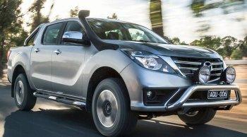 เผยโฉม Mazda BT-50 Minor Change 2018