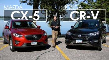 จับรถ SUV ระดับเกรดพรีเมี่ยม มาประชัน ระหว่าง Honda CR-V vs. Mazda CX-5 ยี่ห้อไหนจะเหนือชั้นกว่ากัน