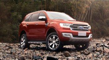 ราคาและตารางผ่อนรถ Ford Everest 2018