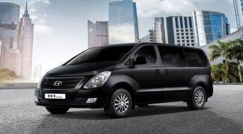 ตอบโจทย์รถสไตล์ครอบครัวกับ Hyundai H1 Touring พร้อมเฉดสีใหม่ Timeless Black