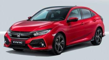ทำความรู้จักยนตรกรรมสุดหรู Honda Civic Hatchback 2018