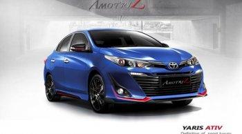 รวมชุดแต่ง Toyota Yaris 2018 เพิ่มความโดดเด่นในทุกสไตล์