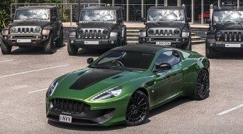Aston Martin WB12 Vengeance ชุดแต่งสุดเท่ แรงบันดาลใจจากจาก Hulk ซุปเปอร์ฮีโร่ Marvel
