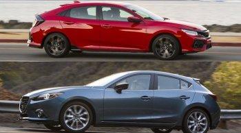 มาดูกันระหว่าง Honda Civic Hatchback 2018-2019 และ Mazda3 2018 แบรนด์ไหนจะตอบโจทย์ความล้ำสมัยด้านเทคโนโลยีได้มากกว่ากัน