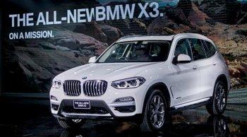BMW X3 xDrive 20d xLine 2018 ขึ้นแท่นเป็น SUV ที่ดีที่สุดสำหรับครอบครัว ด้วยยนตรกรรมที่เหนือระดับ