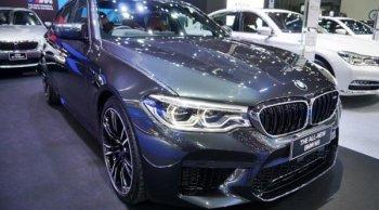 BMW M5 2018 โฉมใหม่ ซาลูนตัวแรงด้วยขุมพลัง 600 แรงม้า เคาะราคาที่ 13,339,000 บาท