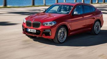 All New BMW X4 สปอร์ตคูเป้โฉมใหม่สุดหรู