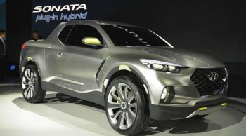 เตรียมเผยโฉม Hyundai Santa Cruz ในปี 2020