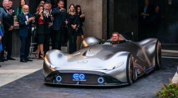 Mercedes-Benz เผยคอนเซปต์ EQ Silver Arrow รถแข่งไฟฟ้าสมรรถนะสูง