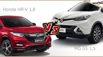 เปรียบเทียบ MG GS 2018 กับ Honda HR-V 2018 ในมิติเก๋งยกสูงคันไหนน่าซื้อกว่า ?