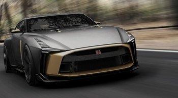 Nissan GT-R50 เปิดให้ชมความหรูหรา ณ ศูนย์แสดงรถยนต์ใหม่ล่าสุด ในญี่ปุ่น มีแค่  50 คัน ในราคา 34 ล้าน