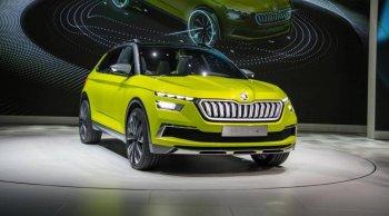 Skoda Vision X 2020 รถยนต์อเนกประสงค์โมเดลใหม่เตรียมวางจำหน่าย พร้อมท้าชน Nissan Juke