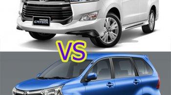 หมัดต่อหมัดเปรียบเทียบพี่ใหญ่ Toyota Innova Crysta 2018 -2019 กับน้องเล็ก Toyota Avanza 2018-2019 ปอนด์ต่อปอนด์