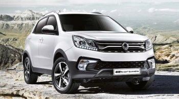ราคาและตารางผ่อน Ssangyong Korando C200 (2019) รถยนต์ครอสโอเวอร์ 4x4 ดีไซน์สวยหรูสไตล์สปอร์ตสุดแกร่ง พร้อมลุย พร้อมลาก