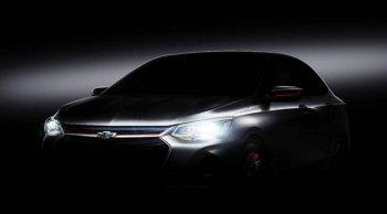 เผยภาพทีเซอร์ Chevrolet Onix ก่อนเปิดตัวจริงใน Shanghai Auto Show 2019