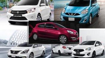แนะนำ 5 อันดับรถยนต์ใหม่ราคาถูกและคุ้มค่าคุ้มราคาน่าจับจองในปี 2562