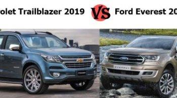เปรียบเทียบ Chevrolet Trailblazer 2019 กับคู่แข่งตลอดกาล Ford Everest 2019 !!