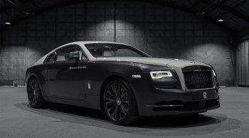 Rolls-Royce Wraith Eagle VIII  รถหรูคู่ประวัติศาสตร์ พร้อมให้เปิดจองในไทยเพียงหนึ่งคัน