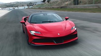 Ferrari เตรียมปล่อยตัวทายาทม้าลำพอง Ferrari SF90 Stradale สปอร์ทพลังไฮบริด ออกมายั่วน้ำลายสายสปอร์ต