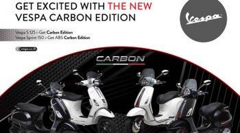 เวสป้า ส่งความหรูหราให้ลูกค้า ด้วยการเปิดตัวสกู๊ตเตอร์แบบดูโอรุ่นพิเศษสุดพรีเมียม Carbon Edition