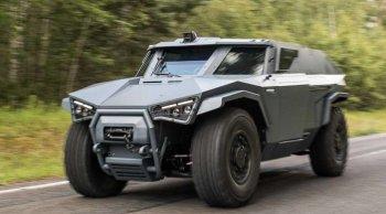 Arquus Scarabee รถทหารอเนกประสงค์ ที่ขับเคลื่นได้ทุกทิศทาง ผลิตจาก Volvo