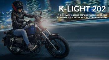 ราคาและตารางผ่อน Keeway K-Light 202 ปี 2019 มินิครุยเซอร์ จากแดนมังกร สไตล์อเมริกัน – เรโทร