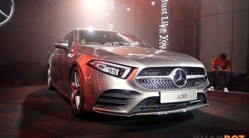 All New Mercedes Benz A-Class 2019 เปิดตัวตัวถังซีดานสุดสวย เคาะราคา 2.49 ล้านบาท