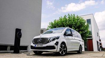 เตรียมจำหน่าย  Mercedes-Benz EQV  จริงในงานโชว์ที่แฟรงก์เฟิร์ต