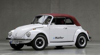 Volkswagen e-beetle โฟลค์เต่าเติมพลังด้วยกำลังไฟฟ้า