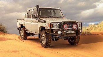 เผยโฉม Toyota Land Cruiser รุ่นพิเศษ Namib สำหรับลูกค้าแดนกาฬทวีป