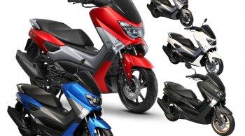 Yamaha NMAX 155 อัปเดตชุดสีใหม่ เพิ่มความร้อนแรง แดงเต็มแม็กซ์