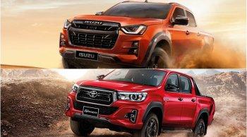 เทียบจุดต่อจุด Toyota Revo Rocco 2019 vs Isuzu D-Max 2020