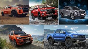 5 อันดับรถกระบะปี 2019 ไหนใหญ่สุดกันนะ