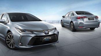 อัปเดตราคาและตารางผ่อน ดาวน์ Toyota Corolla Altis