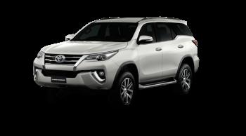 ราคาและตารางผ่อน ดาวน์ Toyota Fortuner