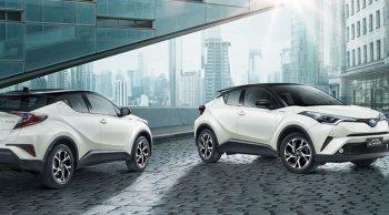 ราคาและตารางผ่อน ดาวน์ Toyota C-HR
